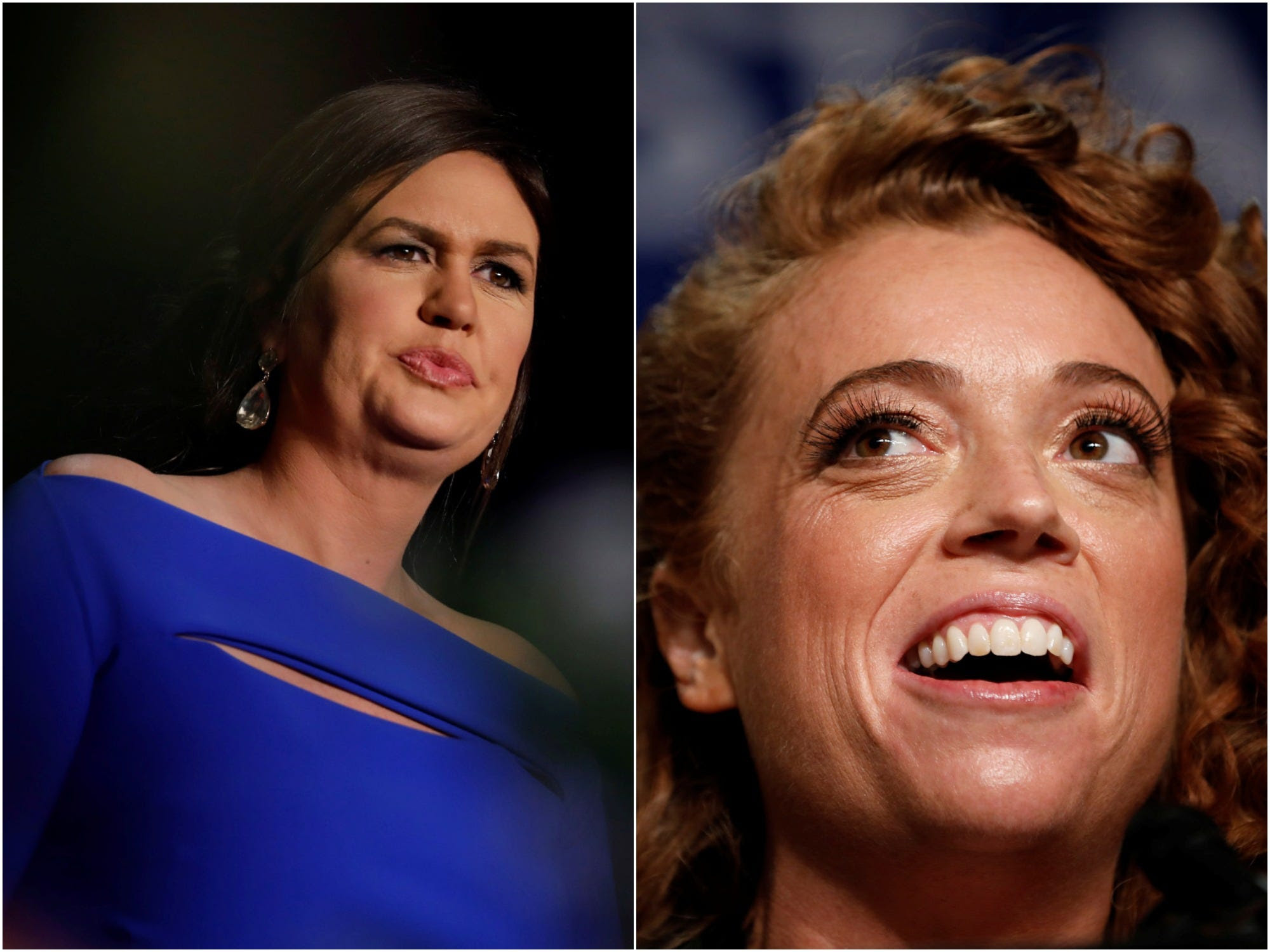 White House Correspondents' Association dinner sarah huckabee sanders Michelle Wolf