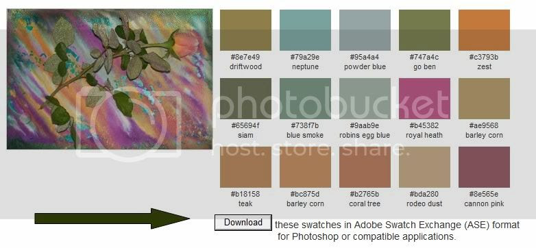 Paperback Writer: Palettes with Color Names