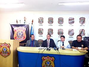 Polícia Federal investiga participação de policial civil em esquema. (Foto: Patrícia Nielsen/TV Verdes Mares)