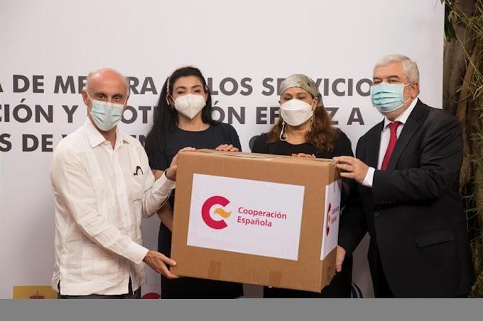 ESPAÑA APOYA SERVICIOS DE PROTECCIÓN A MUJERES MALTRATADAS EN RD