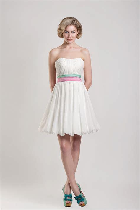 DressyBridal: 5 Cute Short Wedding Dresses for Summer