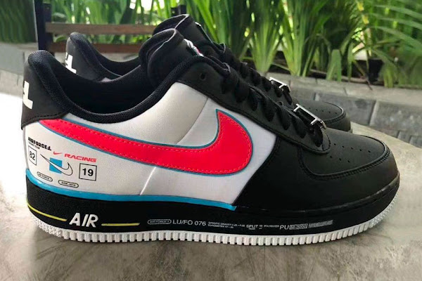 92d6501a96 Nike Puts Together a Racing Logo-Inspired Air Force 1 Colorway