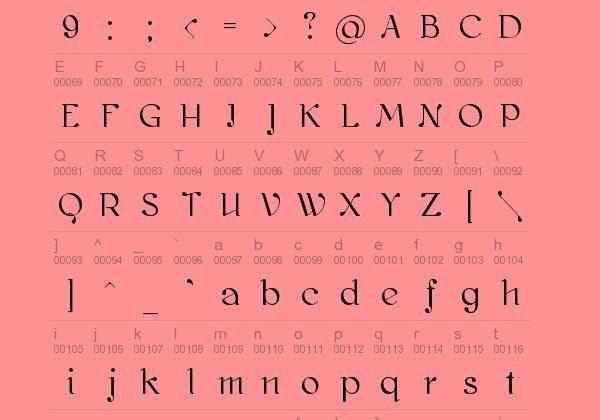 Kawoszeh Free Font 12 Tipografías elegantes y gratuitas – Cuarta entrega