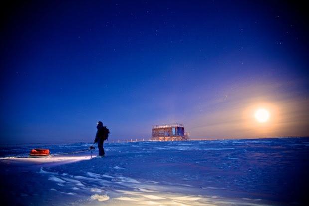 Wintering in Antarctica.