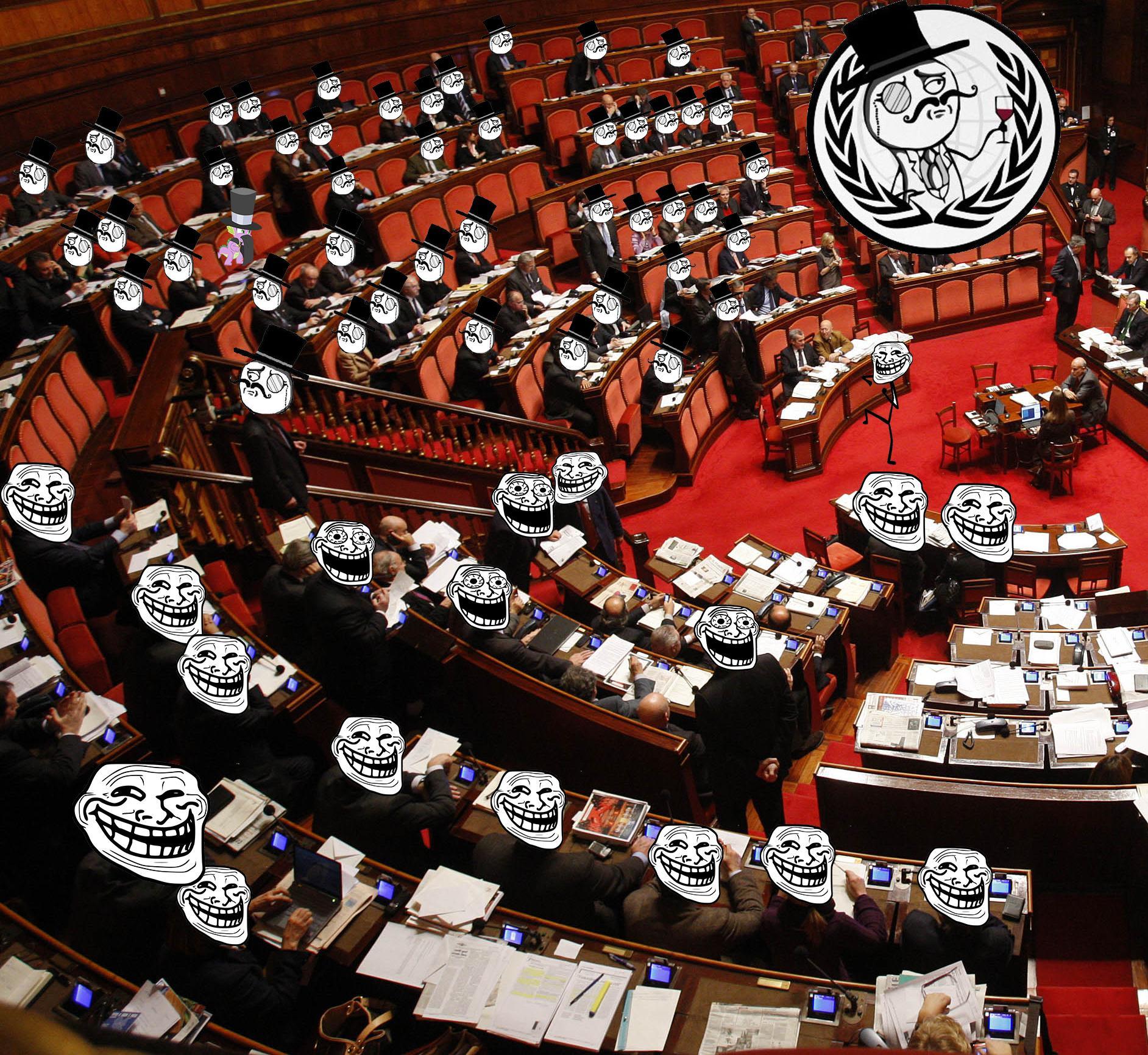 Il blog di anonymous italia parlamento italiano tango for News parlamento italiano