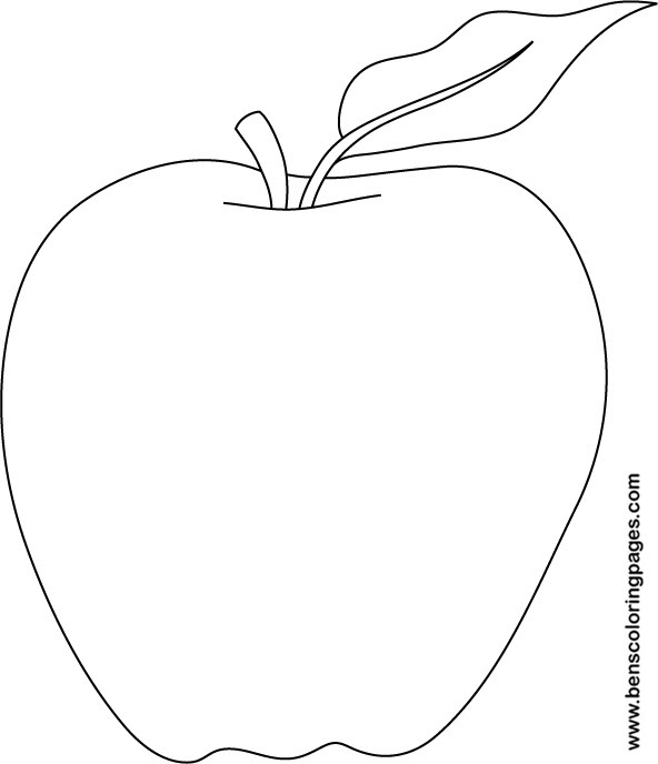5800 Top Printable Coloring Pages Apple , Free HD Download