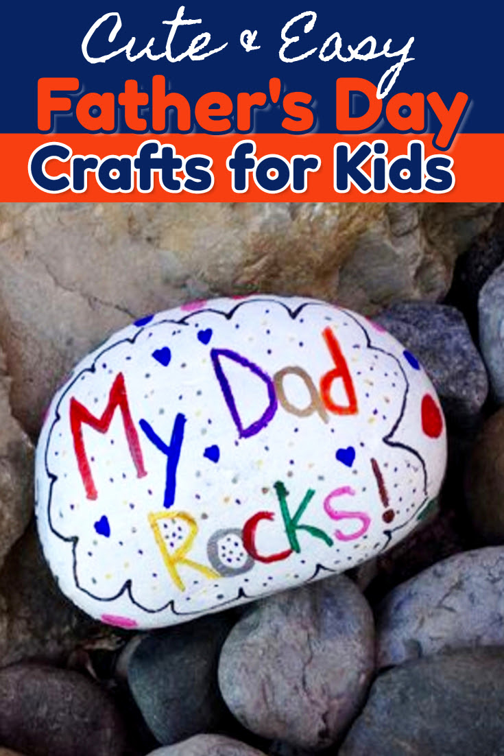 54 Cute And Easy Fathers Day Crafts For Kids New Crafts For 2019