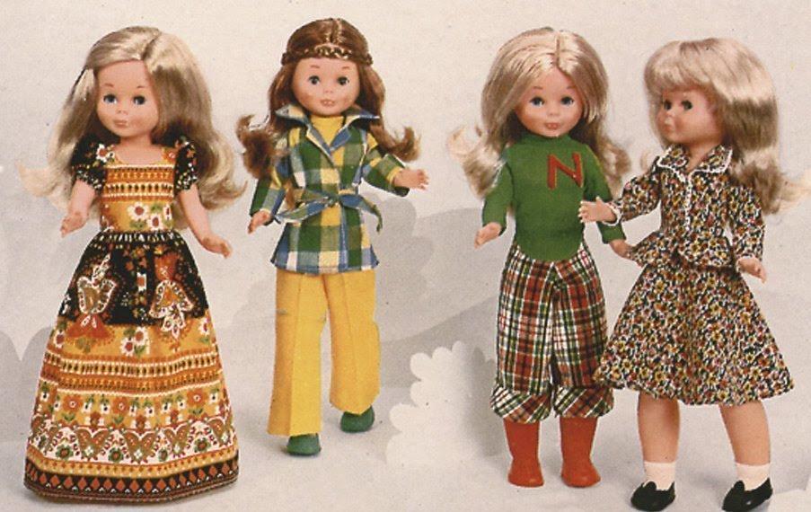 Foto varias muñecas Nancy originales