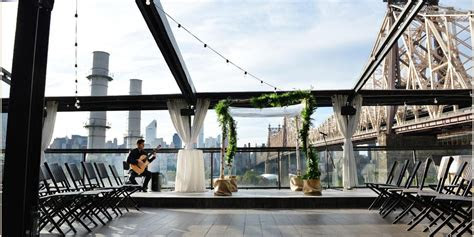 penthouse rooftop  ravel hotel weddings