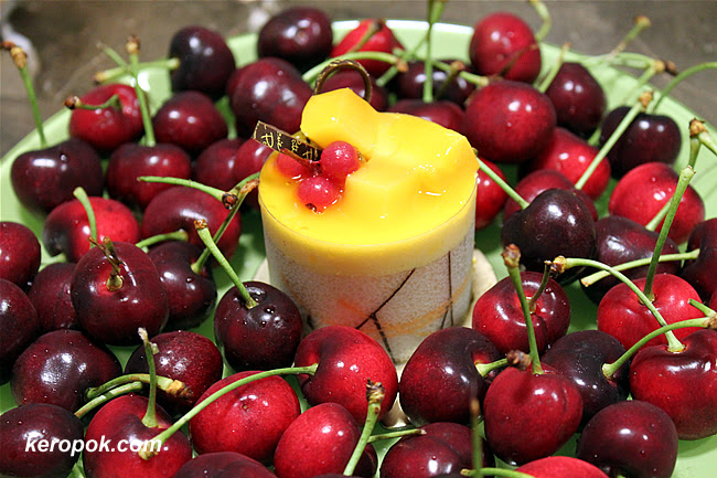 Cherries and Mousse