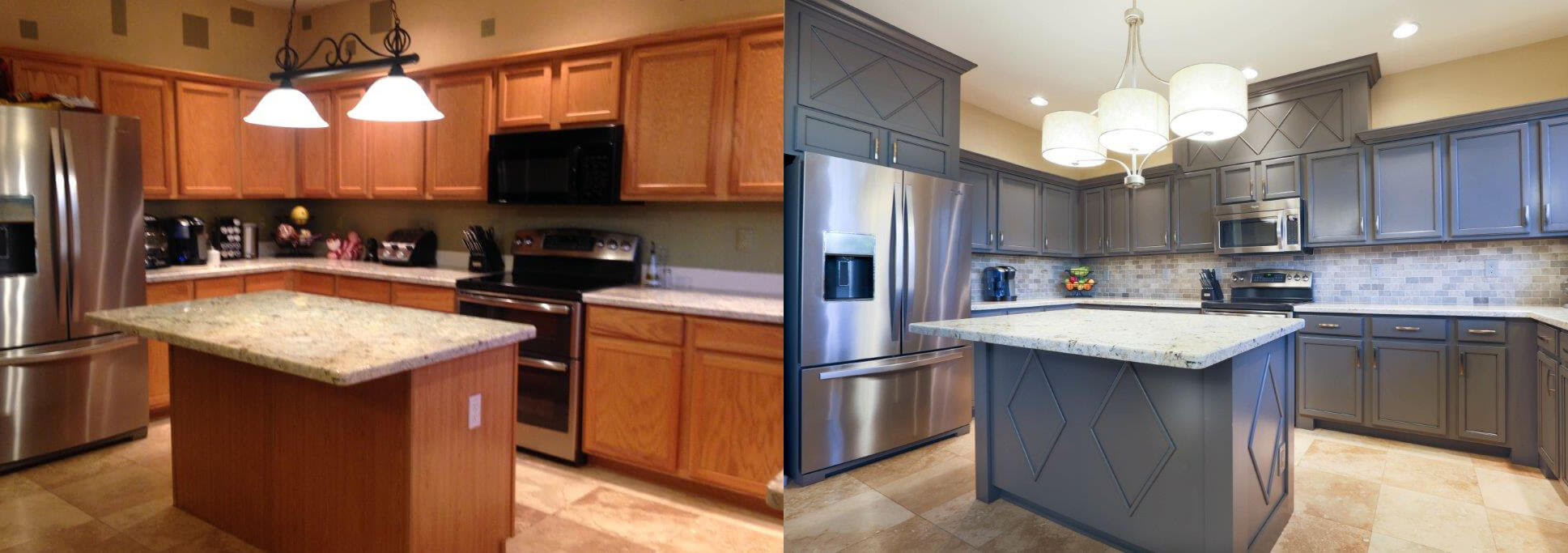 Cabinet Refacing | Marblecast Of Michigan