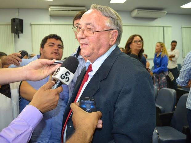 Câmara rejeita processo de cassação contra prefeito de Cacoal, RO (Foto: Rogério Aderbal/G1)