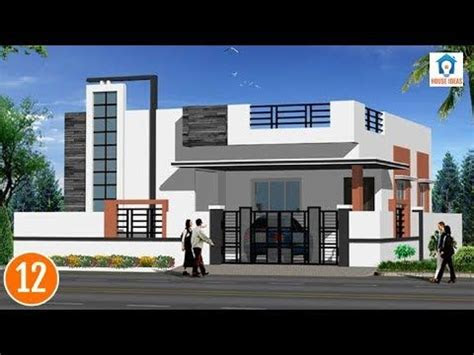 house front elevation designs  single floor house