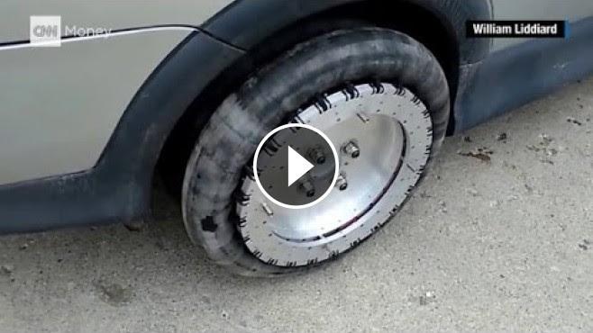 William Liddiards Omnidirectional Wheels To Make Your Car Drive Sideways