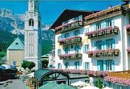 Il centro storico di Cortina d'Ampezzo (web)