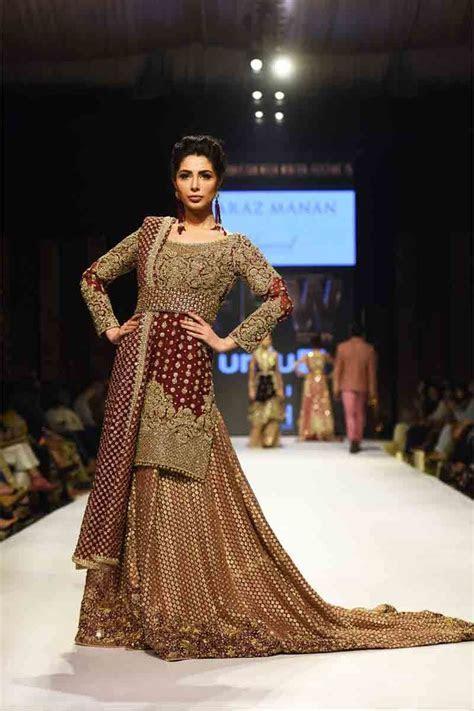 Pakistani Bridal Long Tail Maxi Dress Designs 2019 in 2019