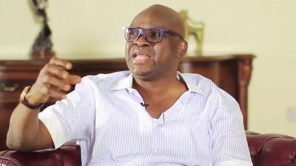 Fayose provides Christmas dress for 10,000 Ekiti children