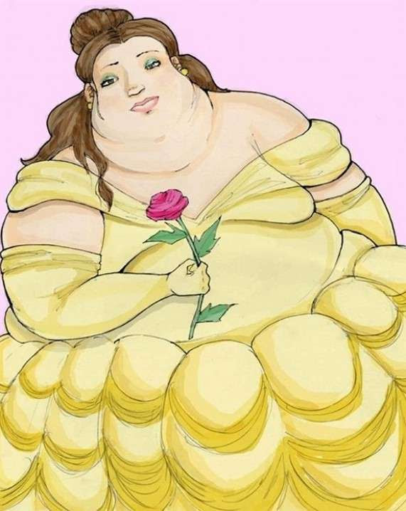Obese Disney Princesses 3