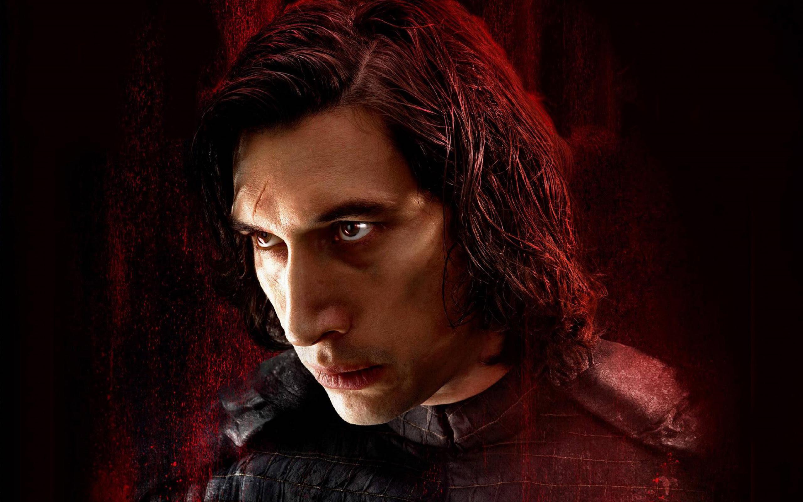 Adam Driver As Kylo Ren In Star Wars The Last Jedi Wallpapers Hd