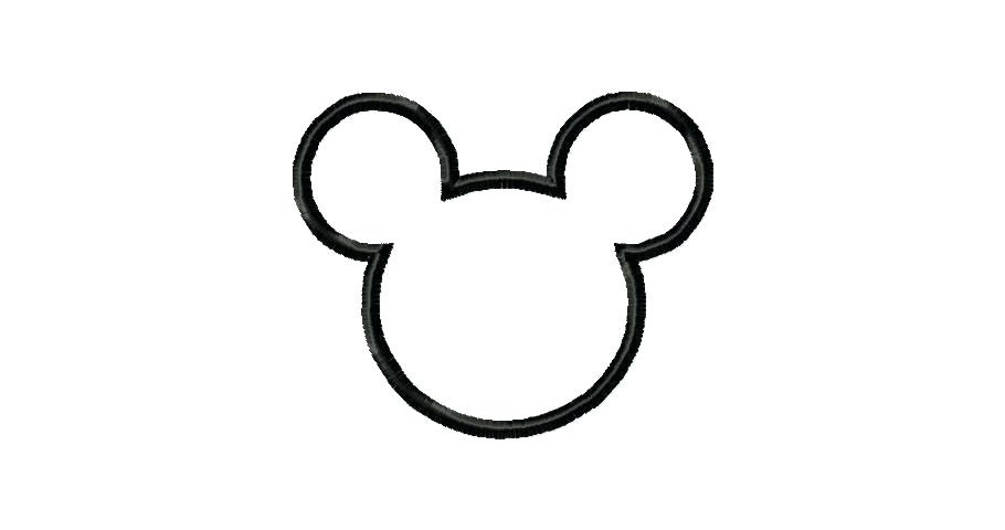 Mickey Mouse Head Silhouette Clip Art At Getdrawingscom Free For