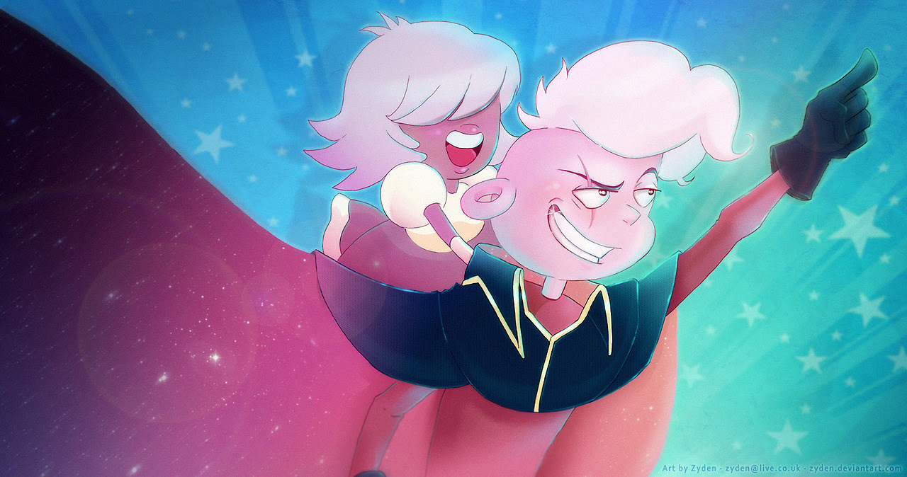 "I've had another vision! Lars will say, ""bingo bongo!"" //////////////////// Every good space pirate needs a Padparadscha on his shoulder to parrot back all his one-liners that got us so shook we are..."