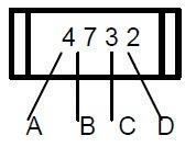 4 digit smd