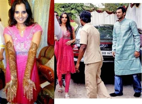 Still photo album of Shoaib Malik and his wife Sania Mirza