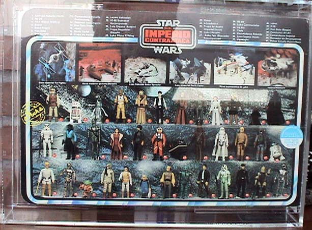 star wars figures checklist. To my knowledge, this is the only licensed Star Wars figure (vintage or