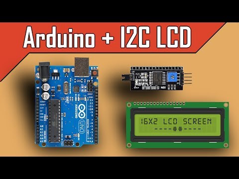 Arduino and I2C LCD | Full Tutorial - clgproject