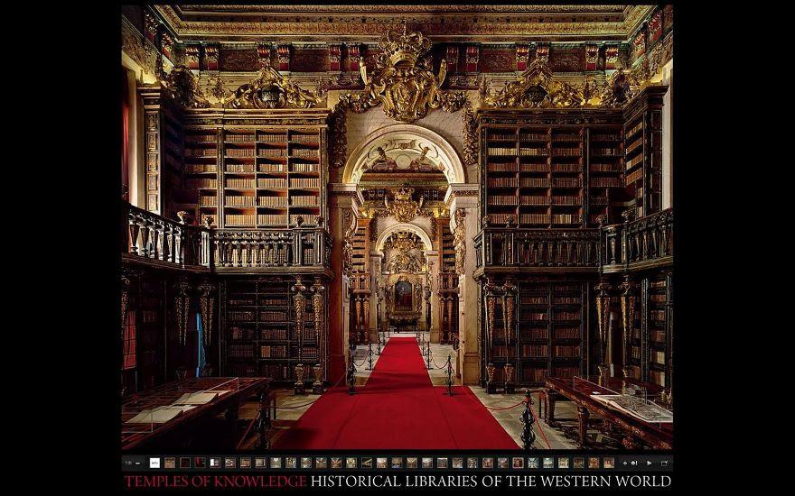 Biblioteca Universidade De Coimbra, Portugal