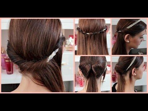 Frisuren Mit Haarband Lange Haare Stilvolle Frisuren Für Jeden Tag