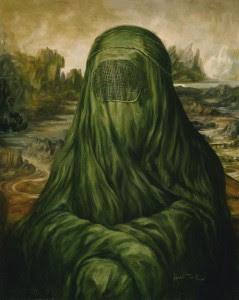 Mona Lisa burka