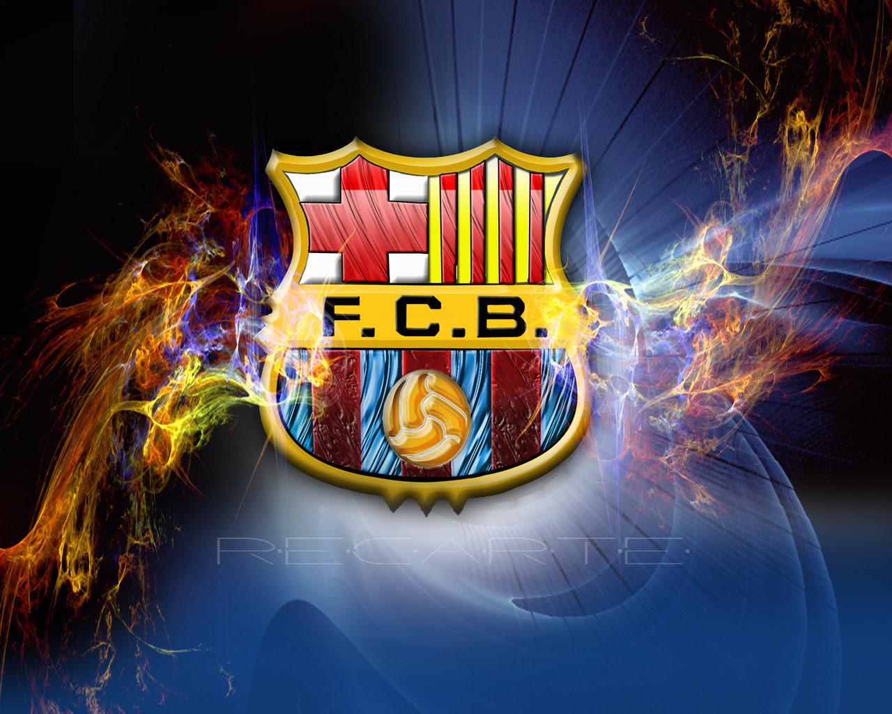 Fc Barcelona Logo 壁紙 Fcバルセロナ 壁紙 22614314 ファンポップ