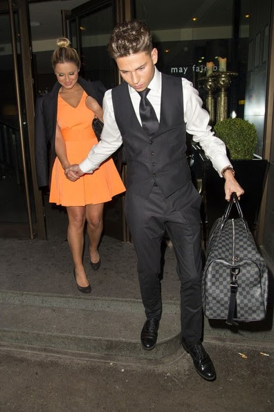 Joey Essex - Joey Essex and Sam Faiers in London