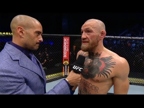 UFC 257: Conor McGregor Octagon Interview