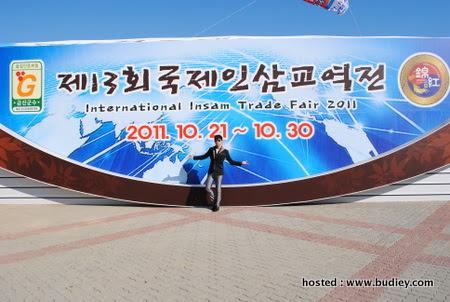 di world ginseng expo Geumsan