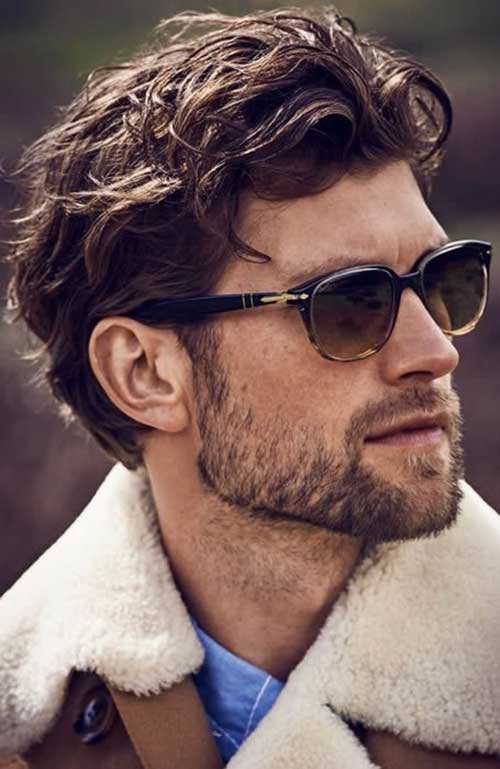 Latest Thick  Wavy Hairstyles for Men  Mens Hairstyles 2018