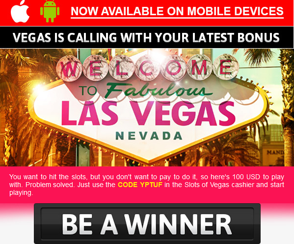 Come see why slots players like us best.Slots of Vegas Mobile Casino is optimized for both Android and iPhone devices so you can play anywhere, any time with over high quality casino games, including multi-reel, multiple payline slots, blackjack, table games, progressive jackpots, video poker, and more.Slots of Vegas Casino is a % safe.