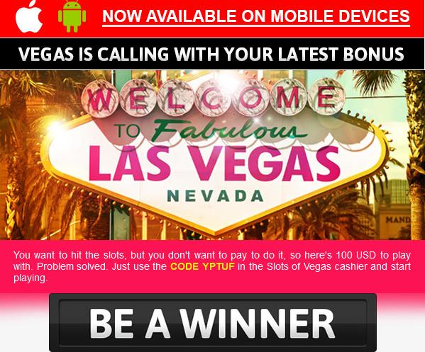 Slots of vegas mobile