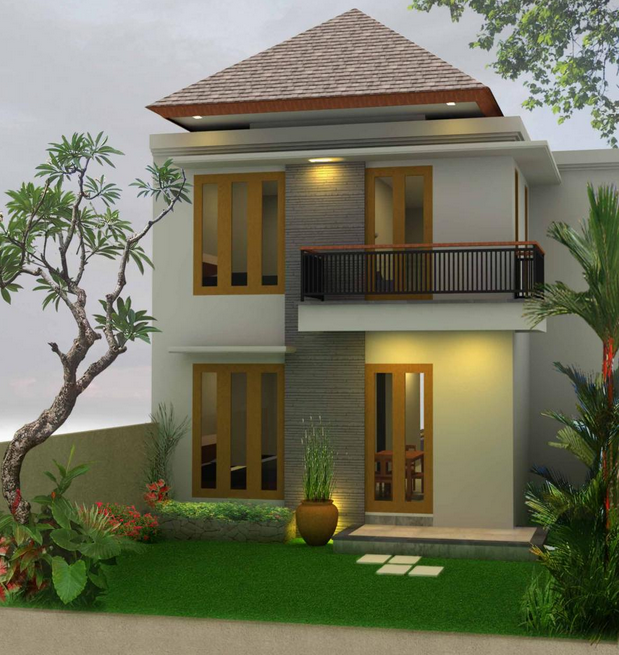 Kumpulan desain rumah kecil untuk lahan sempit berkesan minimalis