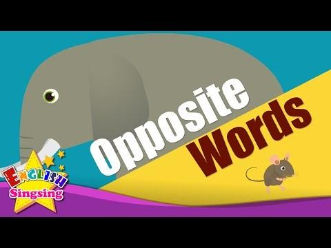 English Kids Vocabulary - Belajar Lawan Kata ( Opposite Words )
