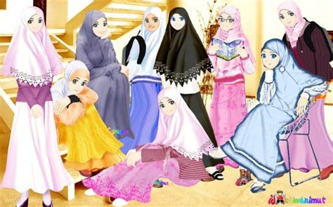gambar kartun islami indonesiadalamtulisan terbaru