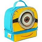 Despicable Me 2 Minion Stuart Dual Compartment Childrens School Lunchbox