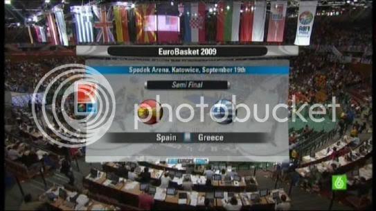 Semifinal España vs. Grecia 2009