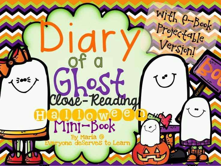 Great Halloween mini book- perfect for my class!