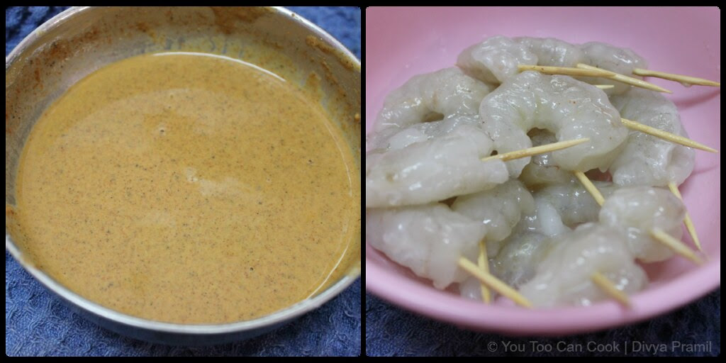 preparation for prawn fry 1