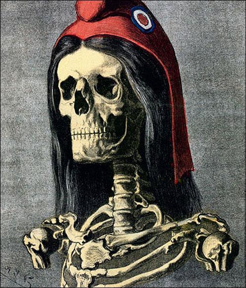 """Résultat de recherche d'images pour """"marianne tête de mort"""""""