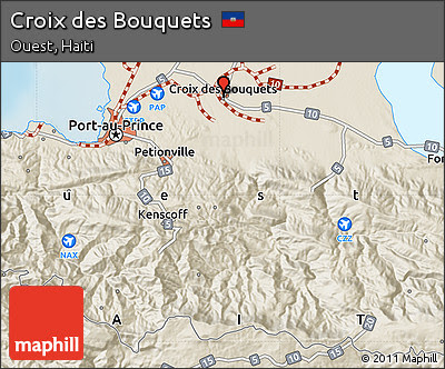 Croix Des Bouquets Haiti Map - Bouquets New Model |Croix Des Bouquets Safety