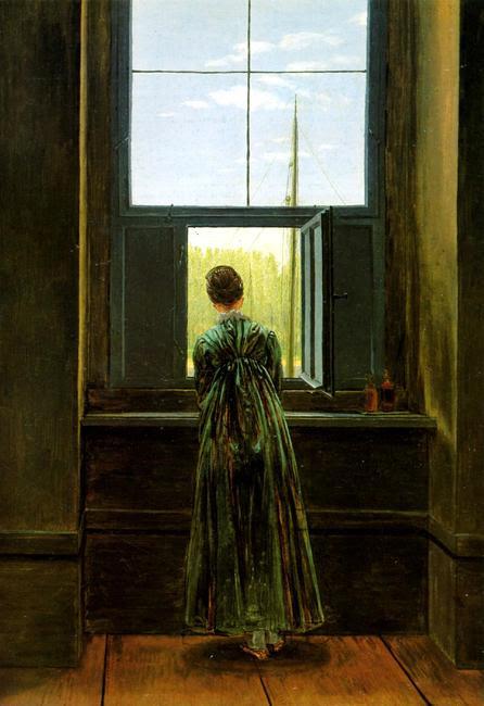 Kobieta w oknie - opis, interpretacja, analiza obrazu ...