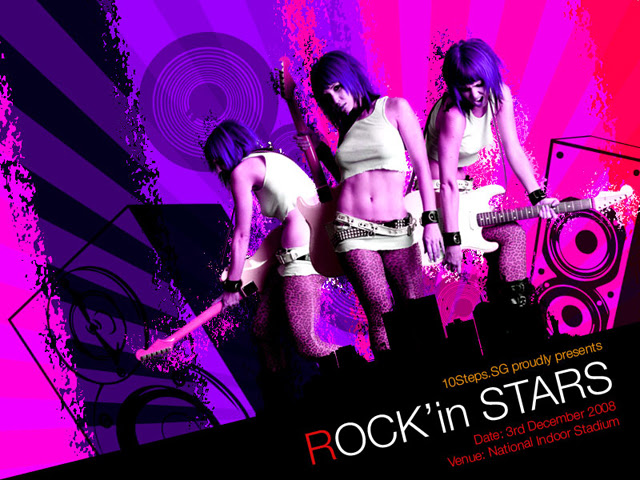 Creating a Grunge Rock Poster image 16